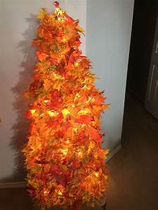 Esty, Shop, Rustic, Fall, Tree, With, 200, Lights