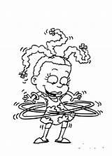 Rugrats Colorear Para Los Imprimir Coloring Pages Dibujos Pintar Printable Clever sketch template