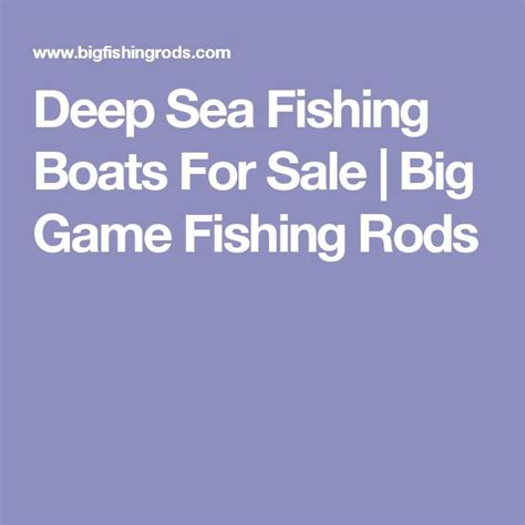 Deep Sea Fishing Boat Sale by Best 25 Fishing Boats For Sale Ideas On Pinterest Small