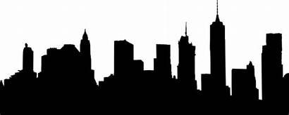 Skyline Manhattan Drawing Nyc Clipartmag