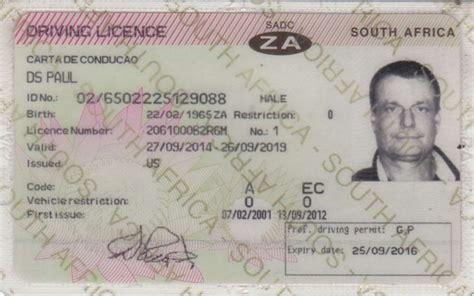 sa driving licence