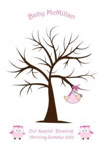 baby shower fingerprint tree arbol huellas imprimible recuerdo baby shower bautizo