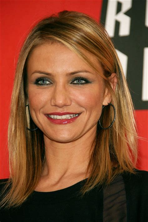cameron diaz hairstyles   faces stylebistro
