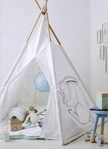 Tipi Pour Chambre : tipi enfant pour une chambre d co le blog deco de mlc ~ Teatrodelosmanantiales.com Idées de Décoration