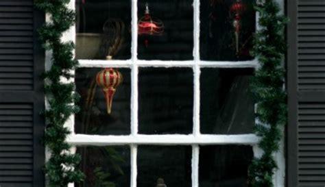 ideas  decorar ventanas en navidad