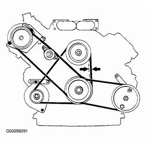 1988 Volvo 760 Serpentine Belt Routing And Timing Belt