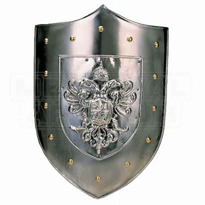 Shield Steel Plain Medieval Charles Shields Armor