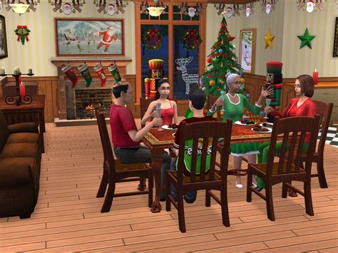 sims  happy holiday stuff pc game