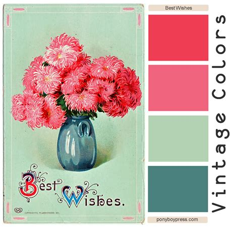 vintage color vintage color palettes on vintage bedding set