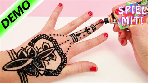 henna selber machen henna selber machen henna tutorial demo