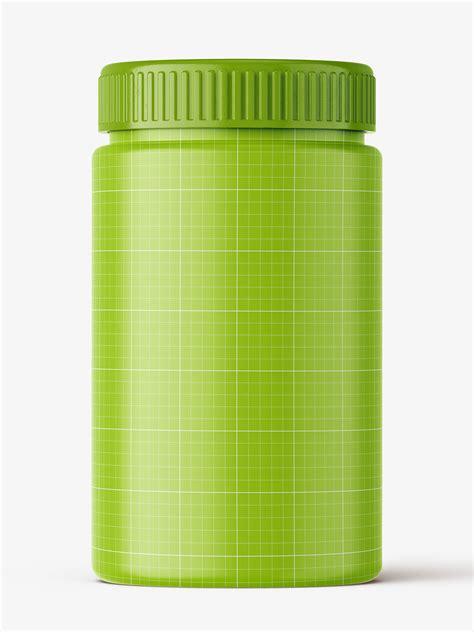 1 month free trial download. Peanut butter jar mockup - Smarty Mockups