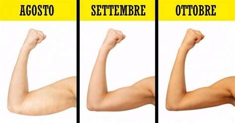 ginnastica per interno braccia esercizi per rassodare interno braccia fitness