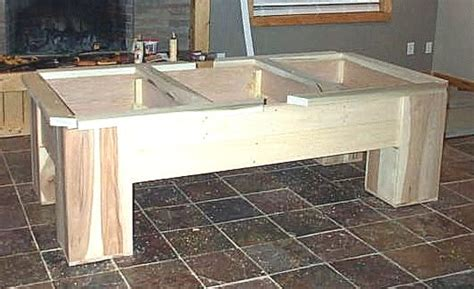 build  pool table rustic style pool table plans