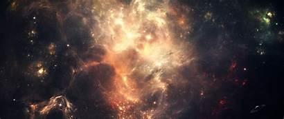 Space Background Dark 2560 1080 Sky Stars