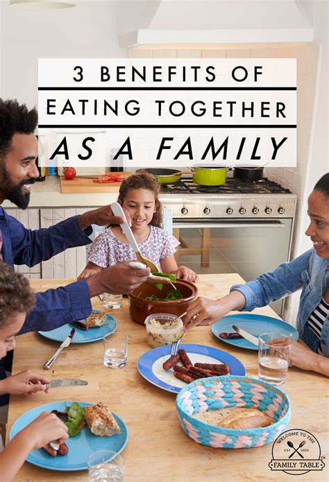 3 Benefits Of Eating Together As A Family  Welcome To The