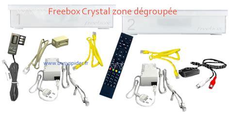 contenu freebox crystal boitier 1 et 2 zone d 233 group 233 e