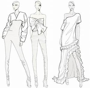 fashion illustration fashion illustration for coloring With figure templates for fashion illustration