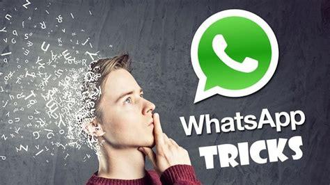 100 best whatsapp tricks whatsapp hacks 2019