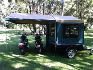 Motorcycle Camper Trailers