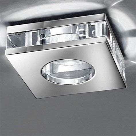 Contemporary Bathroom Downlight by Modern Chrome Recessed Downlight Rf267 The Lighting