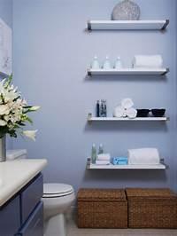bathroom storage shelves 10 Savvy Apartment Bathrooms | HGTV