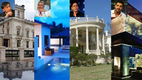 Opulent Homes Of India's Rich And Famous  Address Home