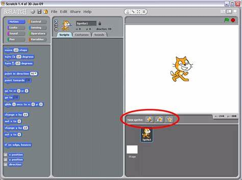 You Make To Select Some Icons science buddies scratch user guide: adding images