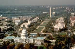 National Mall Washington DC Aerial View