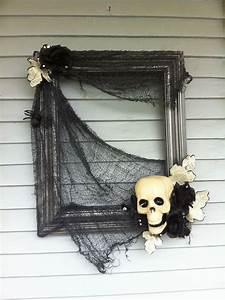 Bricolage Halloween Adulte : a partir d 39 un cadre halloween pinterest halloween d co halloween et d coration halloween ~ Melissatoandfro.com Idées de Décoration
