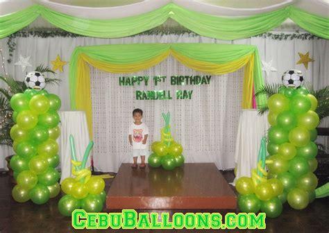 soccer cebu balloons  party supplies