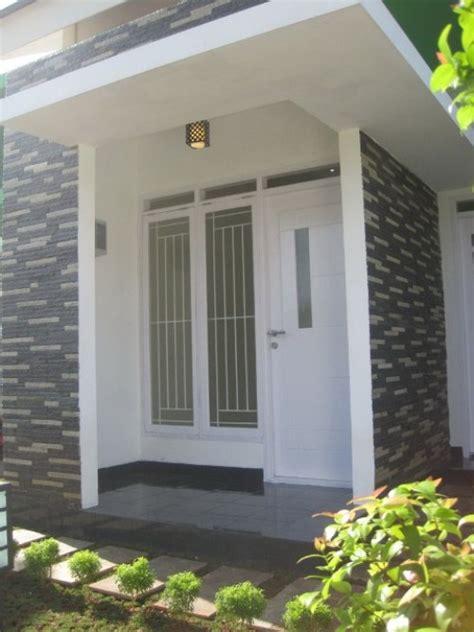 gambar rumah minimalis pake batu alam