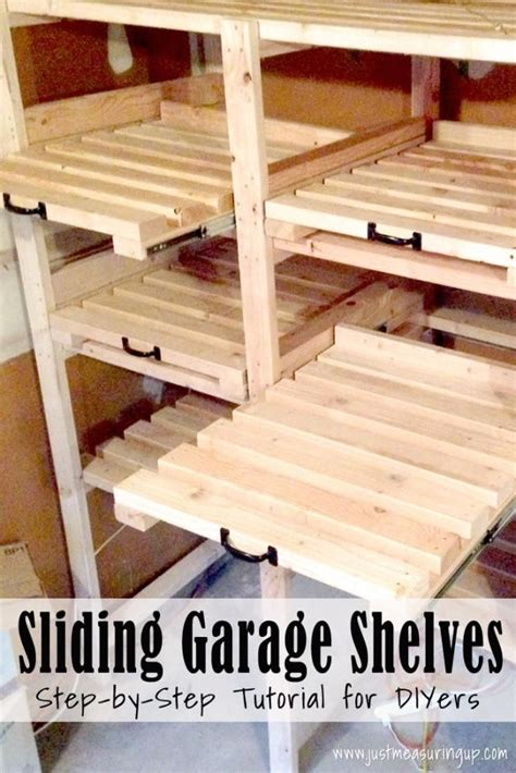 diy plafondl 25 best ideas about garage storage shelves on pinterest