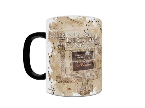 'Harry Potter' Marauder's Map Morphing Coffee Mug ? Tools and Toys