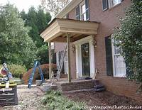 build a porch How Much Does It Cost To Build Or Add On A Front Porch