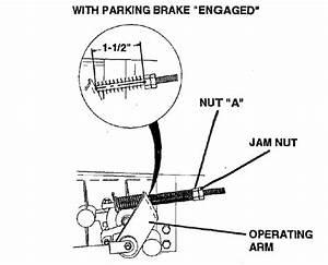 Craftsman Lawn Tractor  917280150  Brake Rod Retention