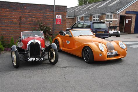 Eclectic Ephemera Classic Car Firm Morgan Building New