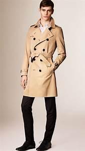 Trench Coat Homme Long : trench coats heritage pour homme burberry ~ Nature-et-papiers.com Idées de Décoration