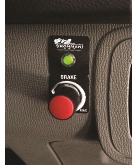 electric brake controller ironman