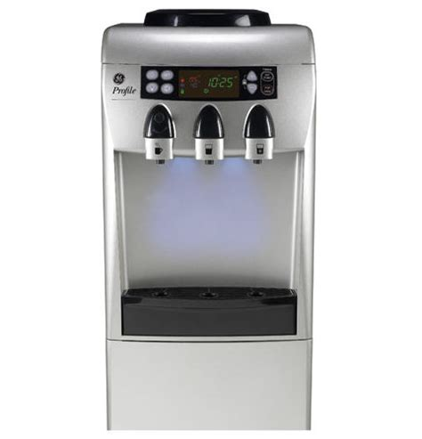 ge profile electronic triple temperature  standing water dispenser  integrated