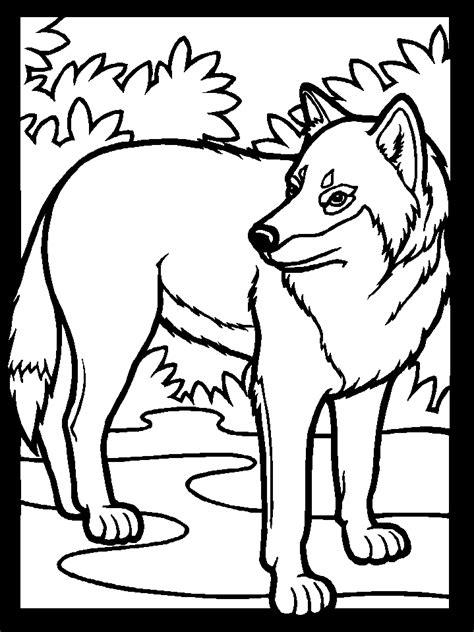 Die kinder die wölfe in den schatten der schwarzen farbe und braun das beste aus den gegebenen blätter zu bringen. KonaBeun - zum ausdrucken ausmalbilder wolf - #26225
