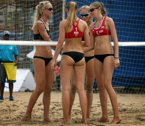 sexy beach volleyball players - XXGASM