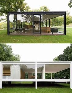Glass House 2 : side by side farnsworth house vs glass house by robin hill metalocus ~ Orissabook.com Haus und Dekorationen