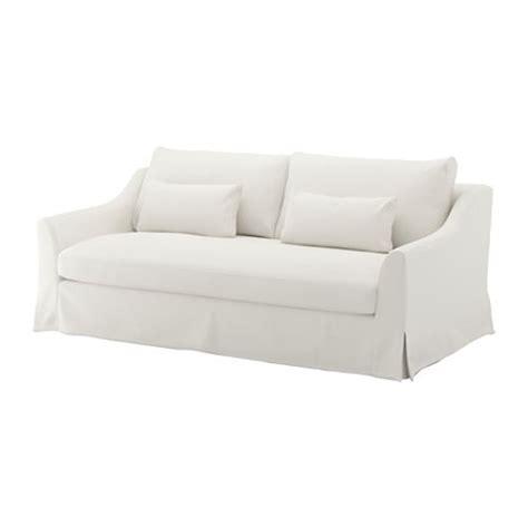 ikea housse de canapé färlöv sofá 3 plazas flodafors blanco ikea