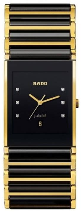 rado integral xl  model  black pvd gold