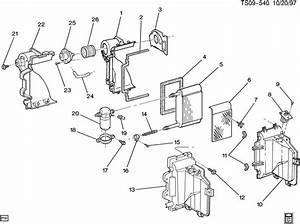 Chevrolet S10 Case  Air Conditioning  A  C  Evaporator Core