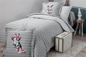 Parure Lit Fille : linge de lit ado ou enfant bunny tradilinge ~ Teatrodelosmanantiales.com Idées de Décoration