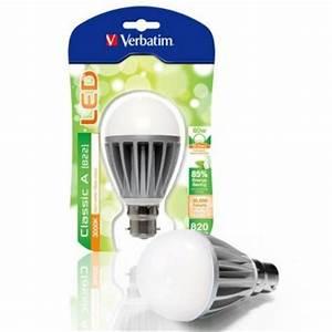 Ampoule Baionnette Led : verbatim ampoule led ba onnette b22 10w 820lm 230v ~ Edinachiropracticcenter.com Idées de Décoration