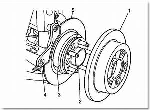 I Am Trying To Remove The Rear Brake Rotors On 2003 Chevy