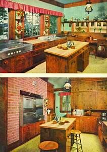 1950 U0026 39 S Bright Kitchen