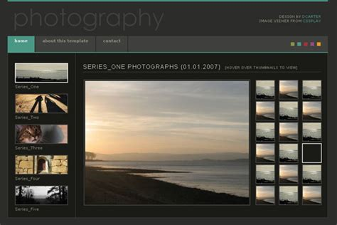 Photography Website Templates 10 Best Images Of Professional Photography Website